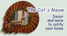 Home decor & more - Cat prints, collectibles, pictures, mirrors, statues, figurines and mugs