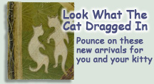 Here you will find the newest items added to the Cat-tique